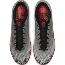 Chaussures Nike Mercurial Vapor X 12 Academy Neymar Ic M AO3122-170 gris gris 2
