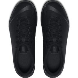 Chaussures de football Nike Mercurial Vapor X 12 Club Tf Jr AH7355-001 noir bleu marine, noir 2