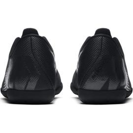 Chaussures de football Nike Mercurial Vapor X 12 Club Tf Jr AH7355-001 noir bleu marine, noir 4