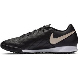 Chaussures de football Nike Tiempo Legend X7 Academy 10R Tf M AQ2218-027 noir noir 1