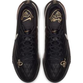 Chaussures de football Nike Tiempo Legend X7 Academy 10R Tf M AQ2218-027 noir noir 2