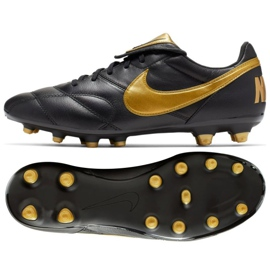 Chaussures de foot Nike Premier Ii Fg M 917803-077 noir noir 2