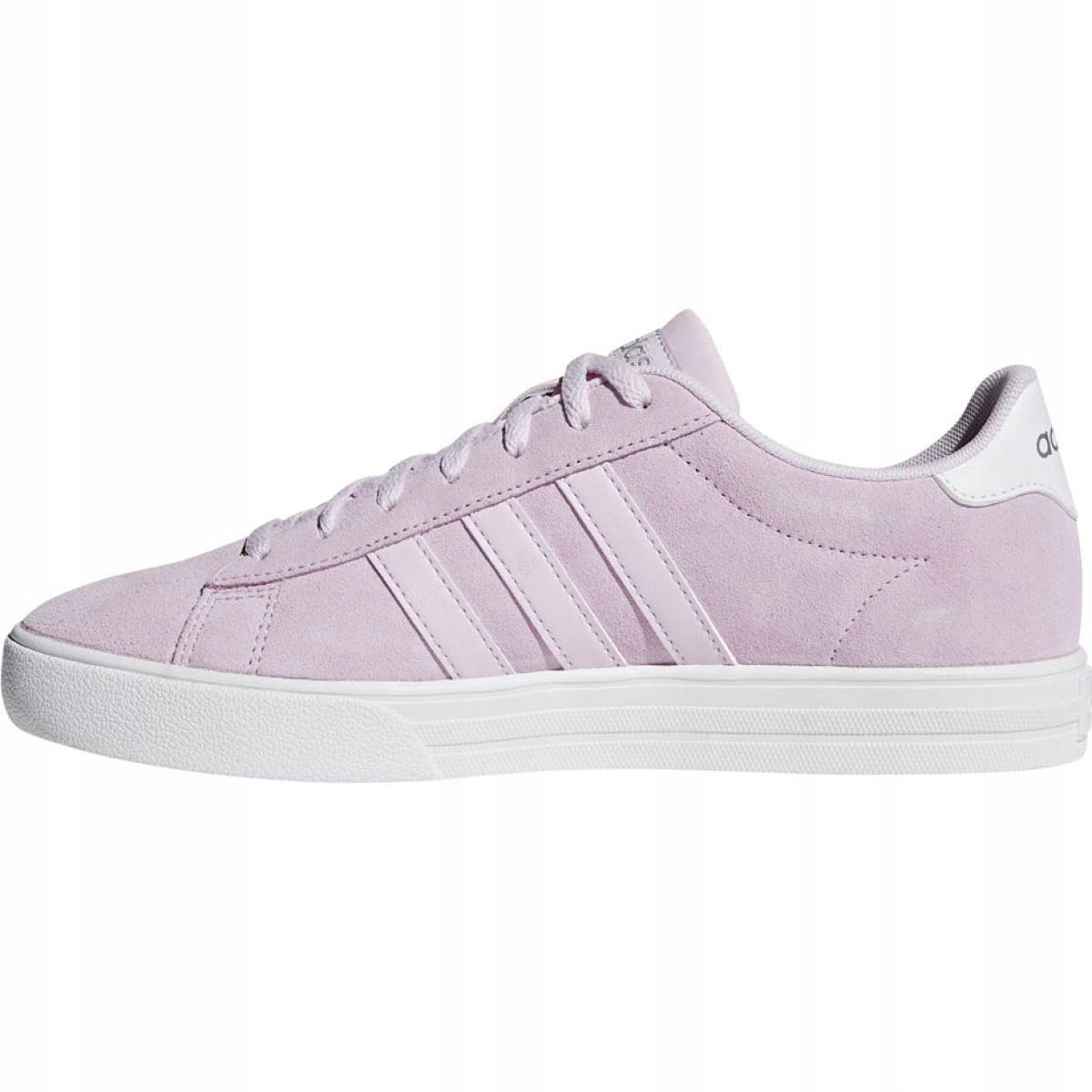 acheter en ligne e189a 6610a Rose Chaussures femme adidas Daily 2.0 W F34740