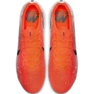 Chaussures de football Nike Mercurial Vapor 12 Elite Fg M AH7380-801 blanc, orange rouge 1