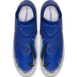 Chaussures de football Nike Phantom Academy DF FG / MG M AO3258-410 multicolore bleu 2