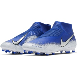 Chaussures de football Nike Phantom Academy DF FG / MG M AO3258-410 multicolore bleu 3