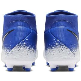 Chaussures de football Nike Phantom Academy DF FG / MG M AO3258-410 multicolore bleu 4