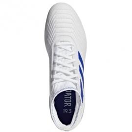 Chaussures de foot adidas Predator 19.3 Ag M D97943 blanc blanc 1