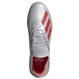 Chaussures de foot adidas X 19.1 Tf M G25752 multicolore argent 2