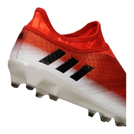 Chaussures de foot adidas Messi 16+ Pureagility Fg M BB1870 rouge rouge 1