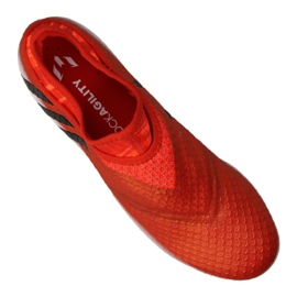 Chaussures de foot adidas Messi 16+ Pureagility Fg M BB1870 rouge rouge 3