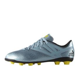 Chaussures de foot adidas Messi 15.4 FxG Jr B26956 bleu bleu 1
