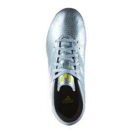 Chaussures de foot adidas Messi 15.4 FxG Jr B26956 bleu bleu 2