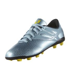 Chaussures de foot adidas Messi 15.4 FxG Jr B26956 bleu bleu 4