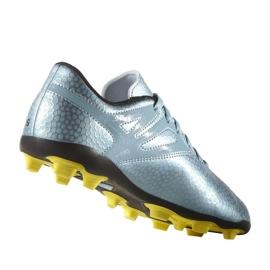 Chaussures de foot adidas Messi 15.4 FxG Jr B26956 bleu bleu 5