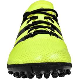 Chaussures de foot adidas Ace 16.3 Primemesh Tf M AQ3429 jaune vert, jaune 2