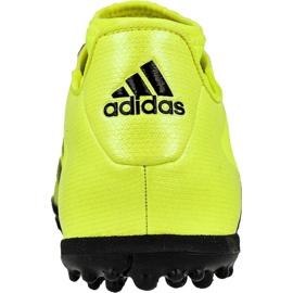 Chaussures de foot adidas Ace 16.3 Primemesh Tf M AQ3429 jaune vert, jaune 3