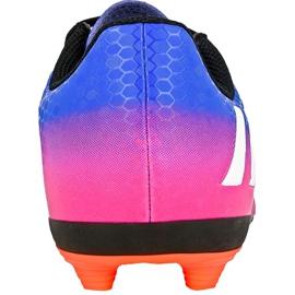 Chaussures de football Adidas Messi 16.4 FxG Jr BB1033 bleu bleu 1