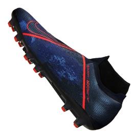 Chaussures de foot Nike Phantom Elite Elite Df AG-Pro M AO3261-440 bleu marine marine 1