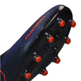 Chaussures de foot Nike Phantom Elite Elite Df AG-Pro M AO3261-440 bleu marine marine 11