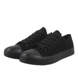Baskets pour hommes noirs XN35 3