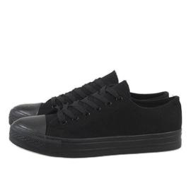 Baskets pour hommes noirs XN35 4