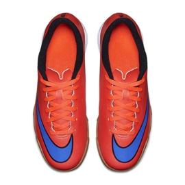 Chaussures de football Nike Mercurial Vortex Ii Ic Jr 651643-650 rouge rouge 2