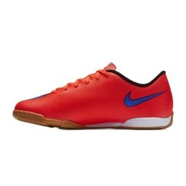 Chaussures de football Nike Mercurial Vortex Ii Ic Jr 651643-650 rouge rouge 3
