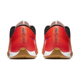 Chaussures de football Nike Mercurial Vortex Ii Ic Jr 651643-650 rouge rouge 5