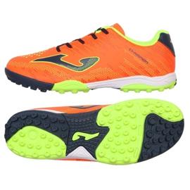 Chaussures de football Joma Champion 908 Tf JR CHAJW.908.TF noir, multicolore orange 2