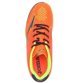 Chaussures de football Joma Champion 908 Tf JR CHAJW.908.TF noir, multicolore orange 3