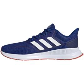 Chaussures de running adidas Runfalcon M EF0150 bleu 1