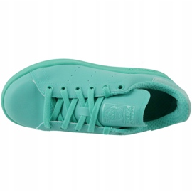 Adidas Stan Smith Adicolor Chaussures W S80250 bleu 2