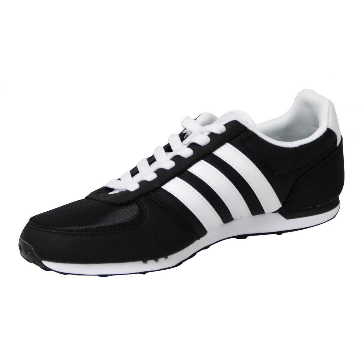 adidas Basket Adidas Neo City Racer F99329 Noir Chaussures