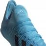 Chaussures de foot adidas X 19.3 In Jr F35354 bleu 4