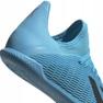 Chaussures de foot adidas X 19.3 In Jr F35354 bleu 5