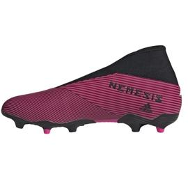 Chaussures de football Adidas Nemeziz 19.3 Ll Fg M EF0372 multicolore rose 1