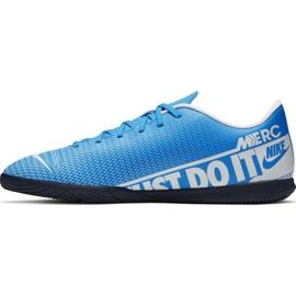 Chaussures de foot Nike Mercurial Vapor 13 Club Ic M AT7997 414 bleu 1