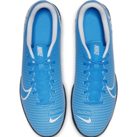 Chaussures de foot Nike Mercurial Vapor 13 Club Ic M AT7997 414 bleu 2