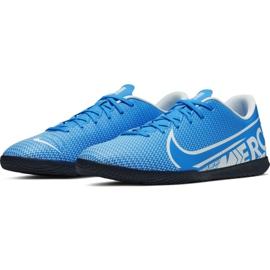 Chaussures de foot Nike Mercurial Vapor 13 Club Ic M AT7997 414 bleu 3