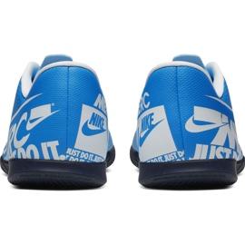 Chaussures de foot Nike Mercurial Vapor 13 Club Ic M AT7997 414 bleu 4