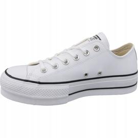Converse All Star Lift Clean Ox W Chuck Taylor 561680C blanc 1