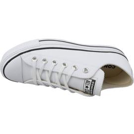 Converse All Star Lift Clean Ox W Chuck Taylor 561680C blanc 2
