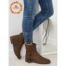 Chaussures pour femmes brunes 4169 Kaki image 1