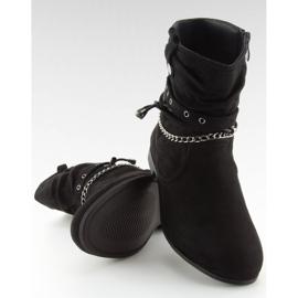 Bottines noires 3767 Noir 1