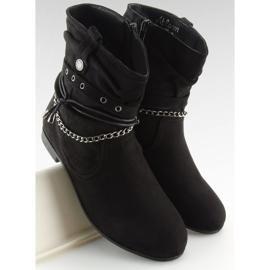 Bottines noires 3767 Noir 5