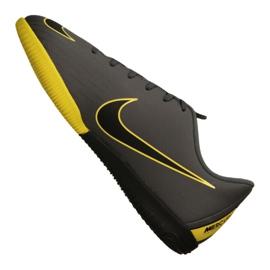 Chaussures d'intérieur Nike Jr VaporX 12 Academy Gs Ic Jr AJ3101-070 gris gris / argent 1