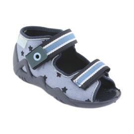 Chaussures enfant Befado bleu 250P079 1