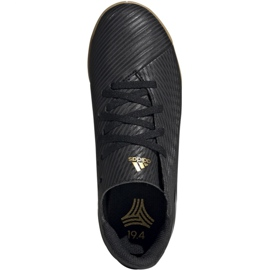 Adidas Nemeziz 19.4 In Jr EG3314 chaussures de football noir noir 1