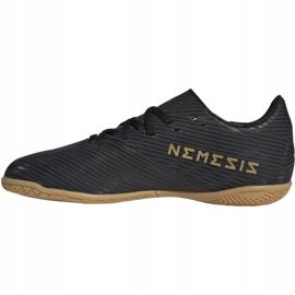 Adidas Nemeziz 19.4 In Jr EG3314 chaussures de football noir noir 2